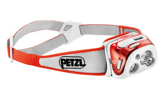 Petzl Reactik+ Stirnlampe Korallenrot